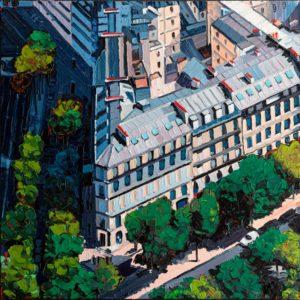 Oliver Weiler: Paris Avenues Matigon Gabriel