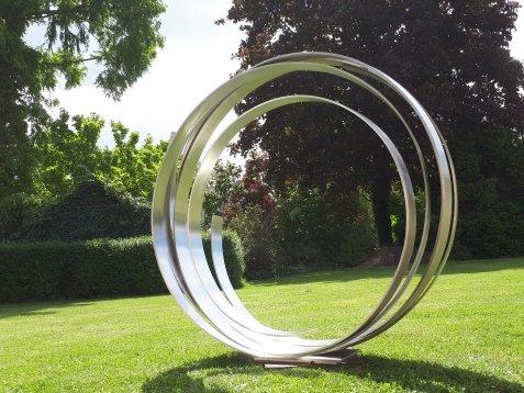Creatio continua | Stahlskulptur | ca. 115 Durchmesser | 2020