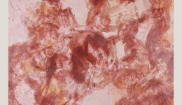 Heilvolles Durcheinander I | Wachs auf Holz | 100 x 100 cm | 2020
