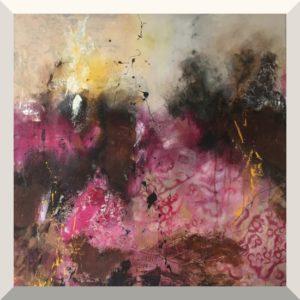 Ulrike Gaiser | Bewegung | Acryl auf Leinwand | 100 x 100 cm | 2019