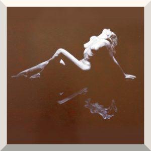Josef Zinsberger | Spiegelbild | Öl auf Leinwand | 70 x 90 cm | 2019