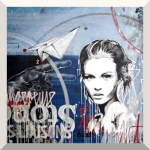 BUJA | Josephine | Acryl auf Leinwand | 150 x 160 cm | 2019