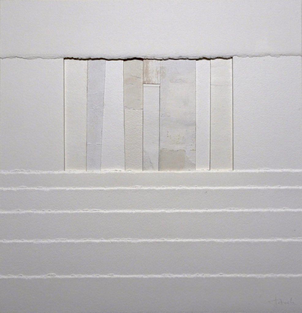 Rainer Storck | Ohne Titel  | Acryl auf Papier | 41,5 x 41 cm | 2018