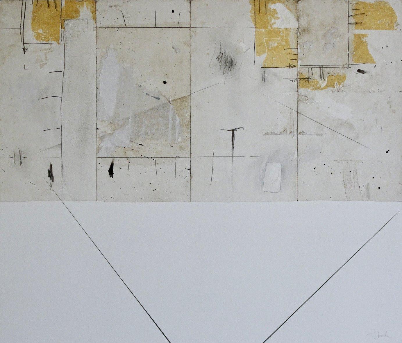 Rainer Storck | Ohne Titel | Acryl auf Papier | 59 x 69 cm | 2019