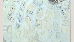 Sabine Hunecke   ohne Titel    Mischtechnik auf Leinwand   80 x 60 cm   2013