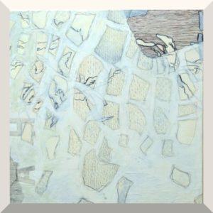 Sabine Hunecke | ohne Titel | Mischtechnik auf Leinwand | 80 x 60 cm | 2013