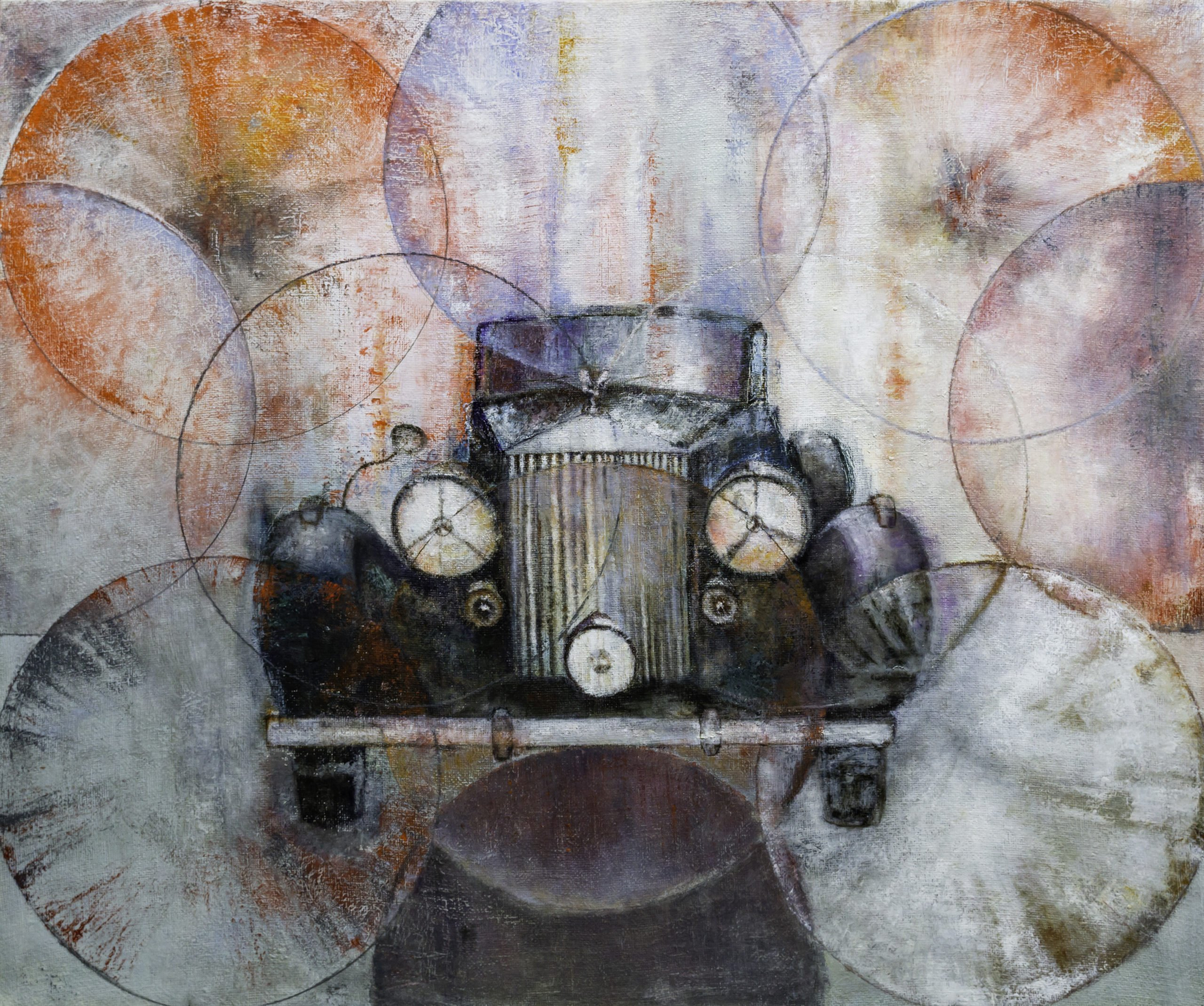 Joanna Zylla | Charleston | Öl auf Leinwand | 100 x 120 cm | 2019