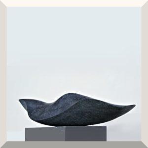 Irene Peil | Im Meer II | Diabas | 15 x 70 x 23 cm | 2019