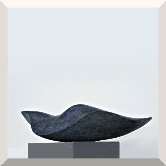 Irene Peil   Im Meer II   Diabas   15 x 70 x 23 cm   2019