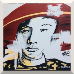 Helwig Sitter | New Icon | Acryl auf Leinwand | 130 x 185 cm | 2020
