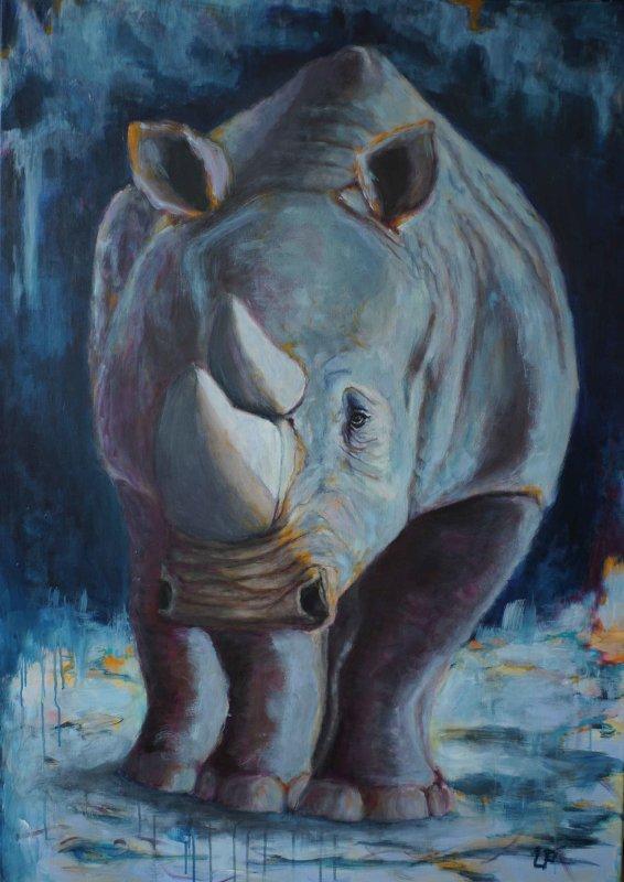 Utaellamarie Peter | Sudan RIP | Acryl auf Leinwand | 140 × 100 cm | 2020
