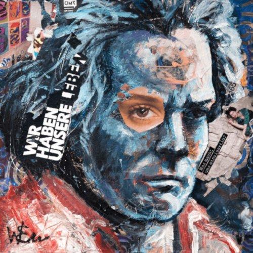 Waldemar Erz | Beethoven | Mischtechnik auf Leinwand | 60 x 60 cm | 2019