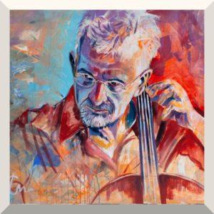 Waldemar Erz | Juris Teichmanis | Acryl auf Leinwand | 100 x 120 cm | 2019