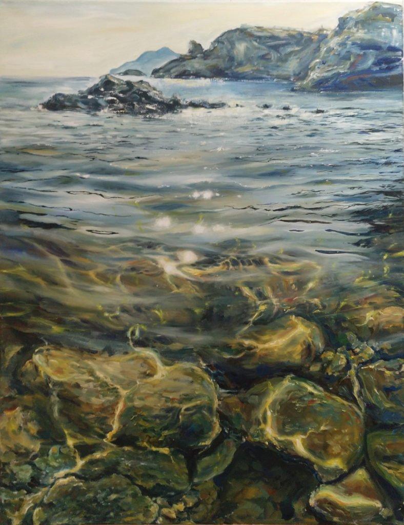 Kateryna Shcherbyna Cabo de Palos | Öl auf Leinwand | 85 x 65 cm | 2020