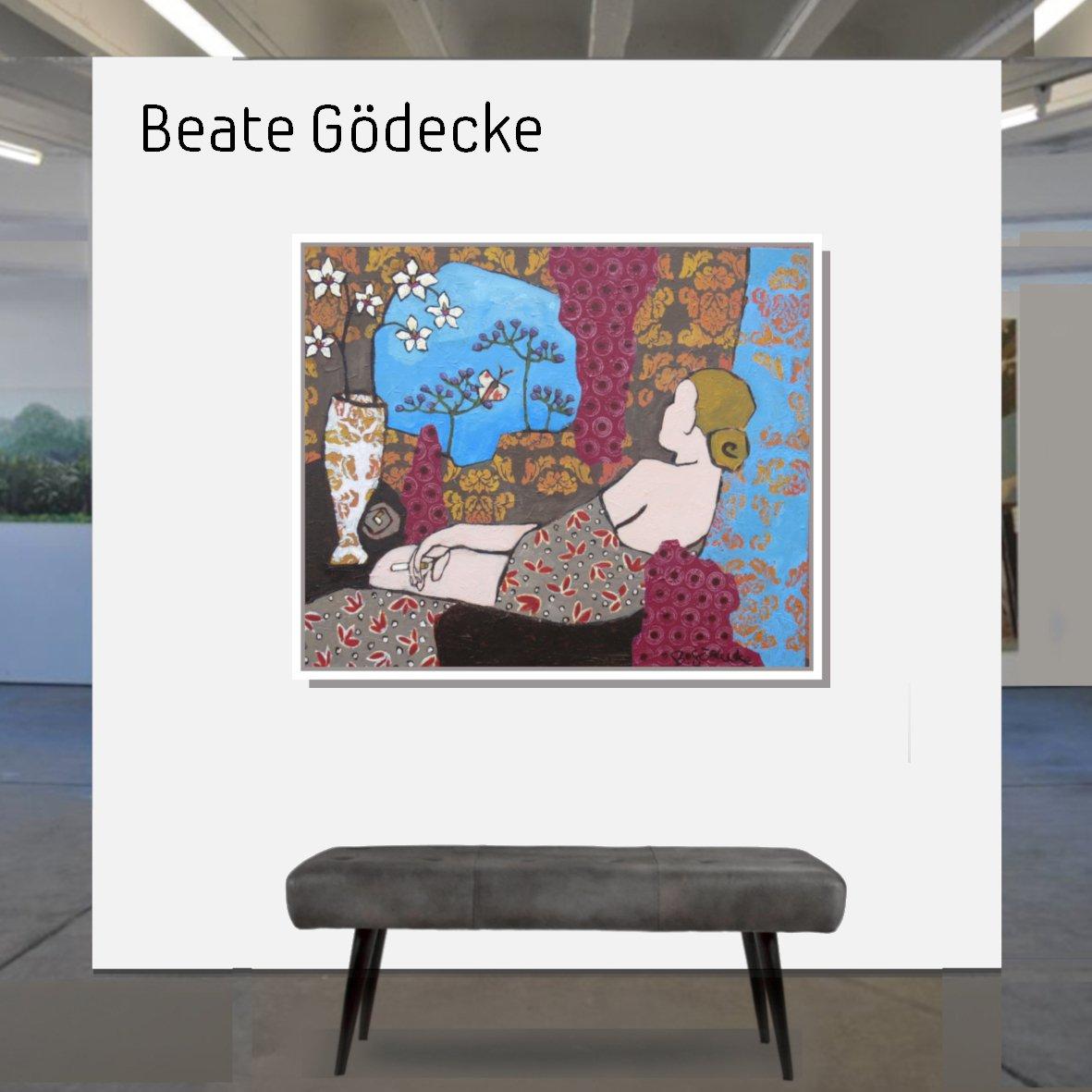 Maske_Gödecke_Beate_100x120Tagtraum_mit_Rahmen