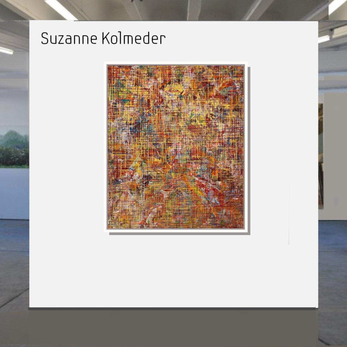 Maske_Suzanne_Kolmeder_Networks._No_31_2019_100_x_120_cm_mit_Rahmen