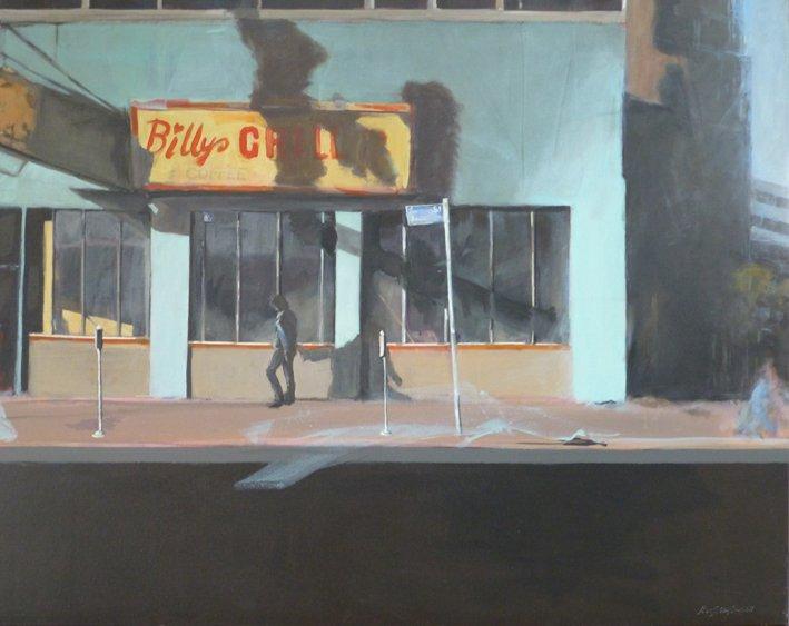 Schattenseiten einer Stadt_80x100