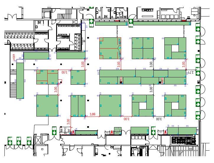 Hallenplan Konstanz