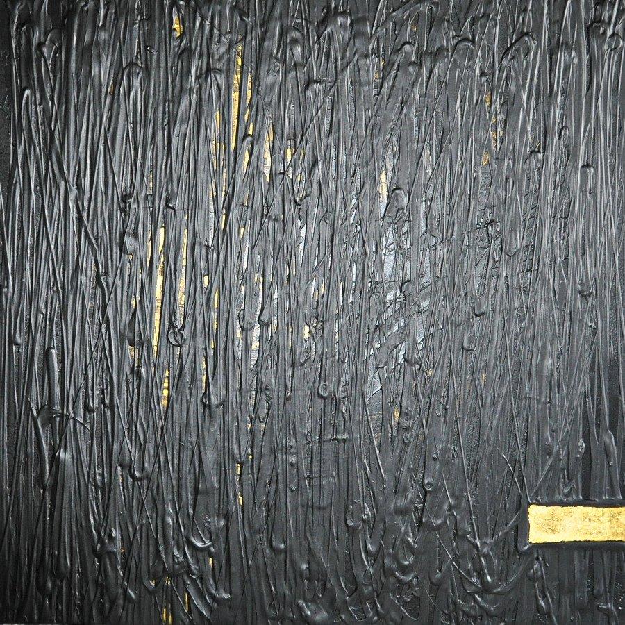 DorotheeWendel,Durchbruch,100x100,acryl on canvas